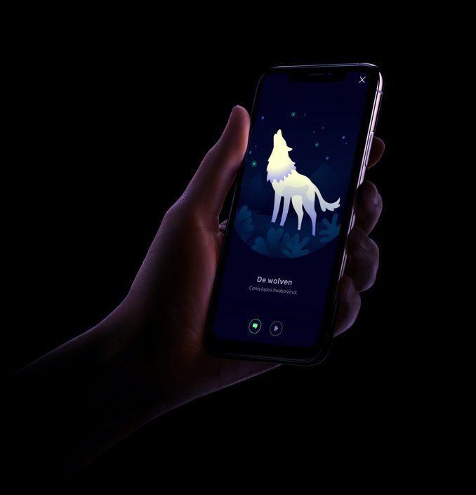 ARTIS slaapwandel app door Defigners