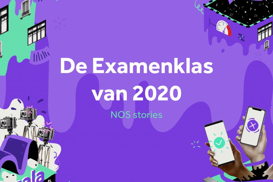 NOS examenklas van 2020 special poster