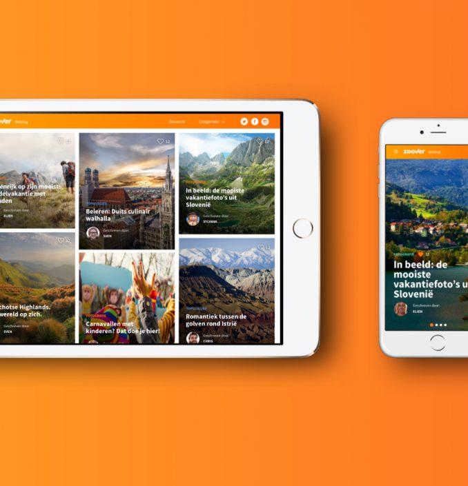 Zoover Blog responsive design