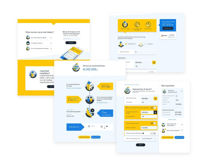 Webdesign voor Hypotheekrente