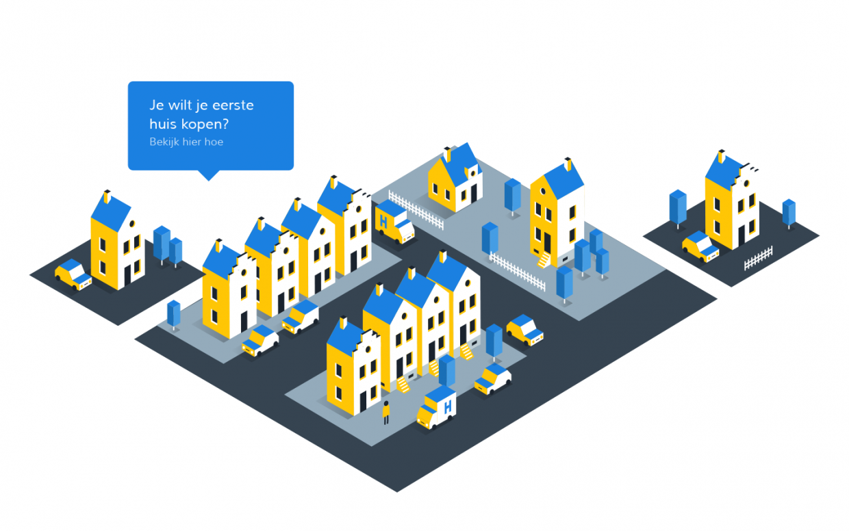 Interface design voor Hypotheekrente