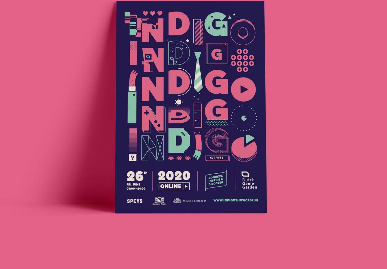 Indigo 2020 game event poster