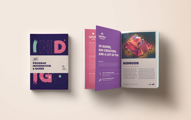 Indigo 2020 programma brochure concept