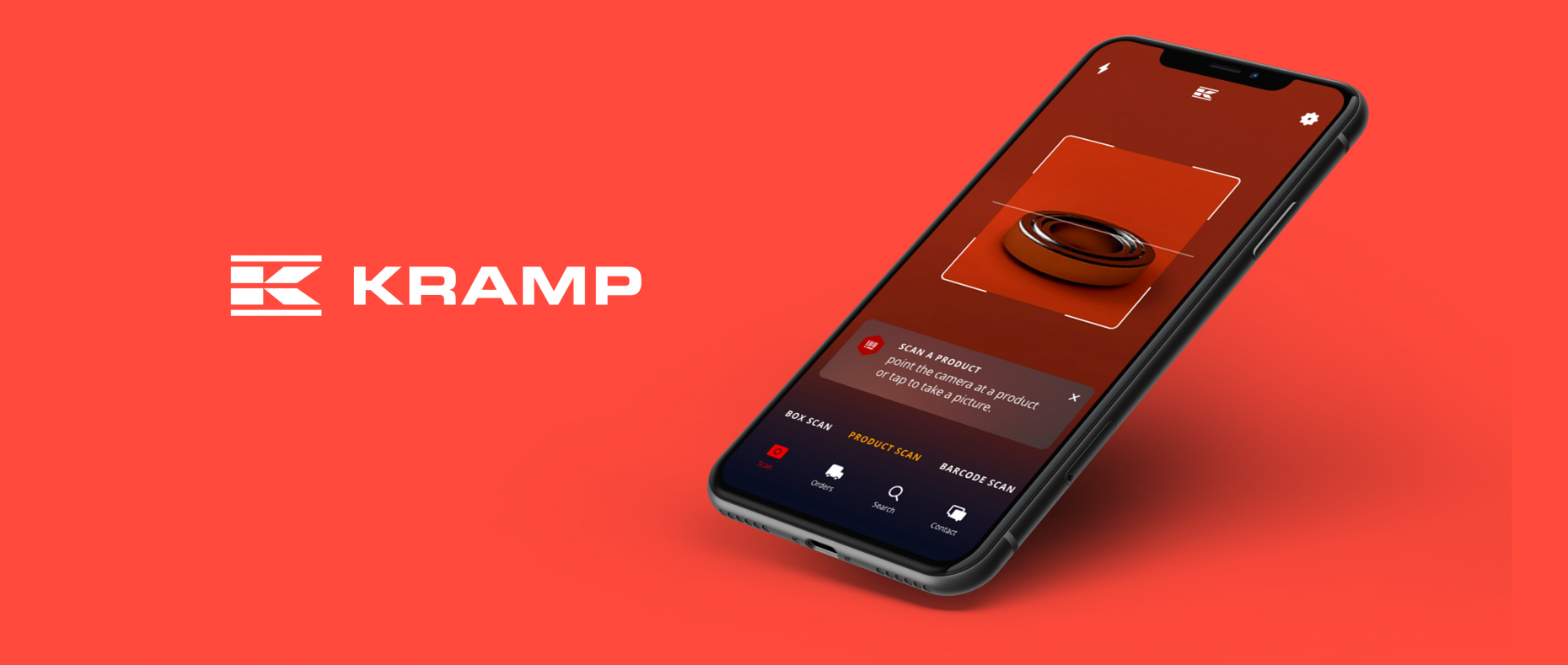 Kramp UX design app